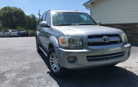 2007 Toyota Sequoia for sale at No Full Coverage Auto Sales in Austell GA