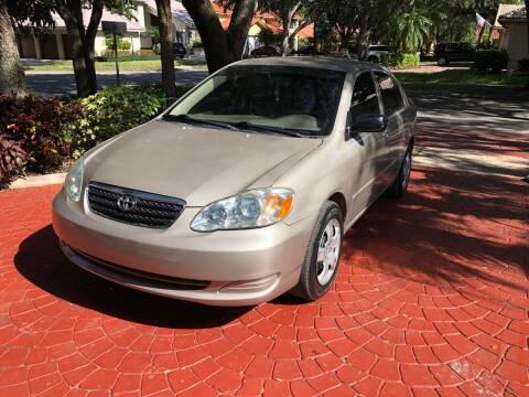 2007 Toyota Corolla for sale at Auction Direct Plus in Miami FL