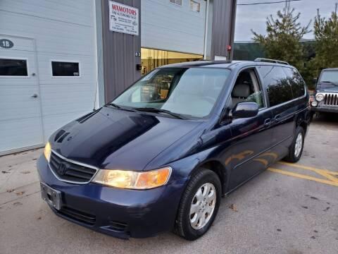 2003 Honda Odyssey for sale at MXMotors in Ashland MA