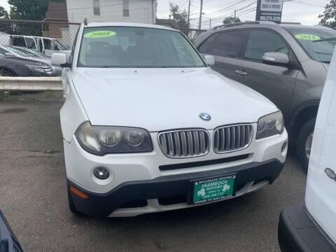 2008 BMW X3 for sale at Park Avenue Auto Lot Inc in Linden NJ