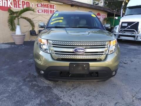 2013 Ford Explorer for sale at VALDO AUTO SALES in Miami FL