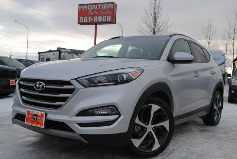 2017 Hyundai Tucson for sale at Frontier Auto & RV Sales in Anchorage AK