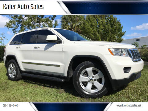 2011 Jeep Grand Cherokee for sale at Kaler Auto Sales in Wilton Manors FL