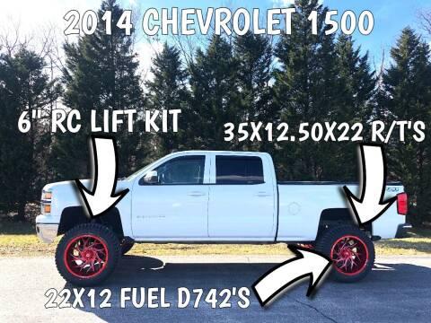 2014 Chevrolet Silverado 1500 for sale at DLUX Motorsports in Fredericksburg VA