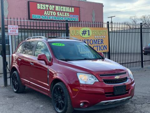 2014 Chevrolet Captiva Sport for sale at Best of Michigan Auto Sales in Detroit MI