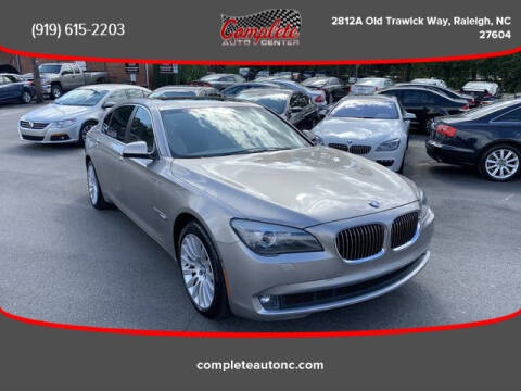 2012 BMW 7 Series for sale at Complete Auto Center , Inc in Raleigh NC