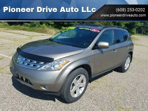 2004 Nissan Murano for sale at Pioneer Drive Auto LLc in Wisconsin Dells WI