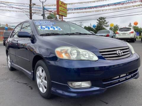 2004 Toyota Corolla for sale at Active Auto Sales in Hatboro PA