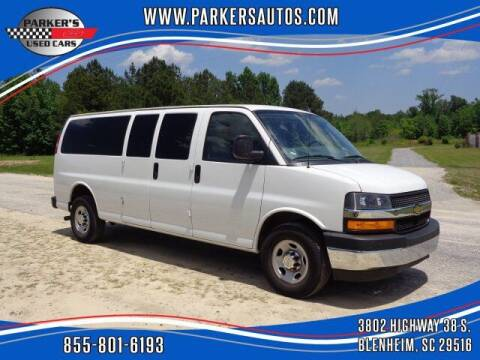 2018 Chevrolet Express Passenger for sale at Parker's Used Cars in Blenheim SC
