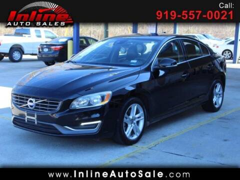 2015 Volvo S60 for sale at Inline Auto Sales in Fuquay Varina NC