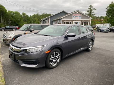 2017 Honda Civic for sale at Mascoma Auto INC in Canaan NH