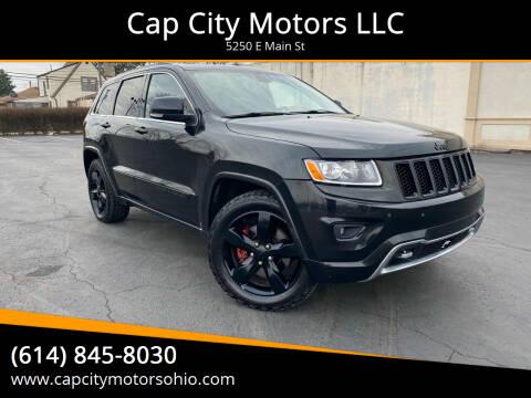 2013 Jeep Grand Cherokee for sale at Cap City Motors LLC in Columbus OH