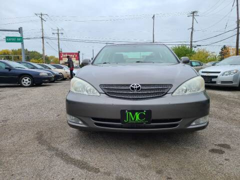 2003 Toyota Camry for sale at Johnny's Motor Cars in Toledo OH