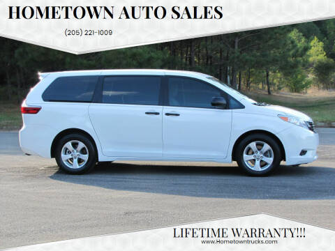 2017 Toyota Sienna for sale at Hometown Auto Sales - SUVS in Jasper AL