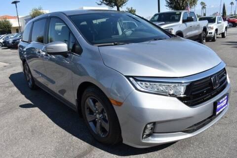 2021 Honda Odyssey for sale at DIAMOND VALLEY HONDA in Hemet CA