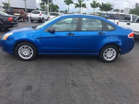 2010 Ford Focus for sale at CAR-RIGHT AUTO SALES INC in Naples FL