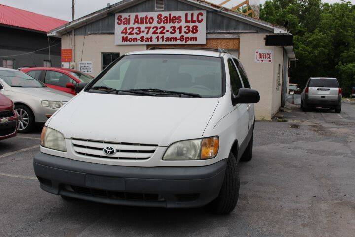 2003 Toyota Sienna for sale at SAI Auto Sales - Used Cars in Johnson City TN