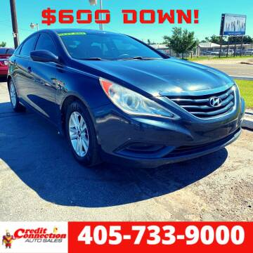 2012 Hyundai Sonata for sale at Credit Connection Auto Sales in Midwest City OK