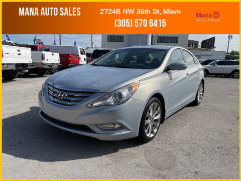 2013 Hyundai Sonata for sale at MANA AUTO SALES in Miami FL