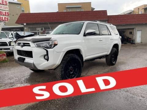 2021 Toyota 4Runner for sale at ELITE MOTOR CARS OF MIAMI in Miami FL