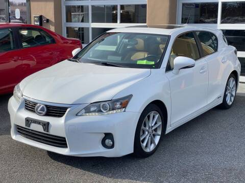 2013 Lexus CT 200h for sale at MAGIC AUTO SALES in Little Ferry NJ
