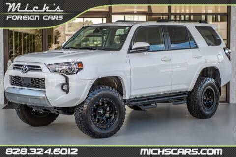 2021 Toyota 4Runner for sale at Mich's Foreign Cars in Hickory NC