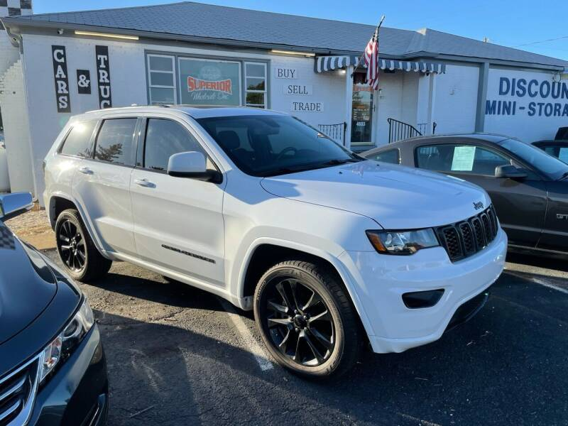 2018 Jeep Grand Cherokee for sale at Superior Wholesalers Inc. in Fredericksburg VA