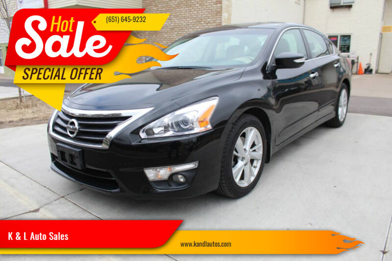 2013 Nissan Altima for sale at K & L Auto Sales in Saint Paul MN