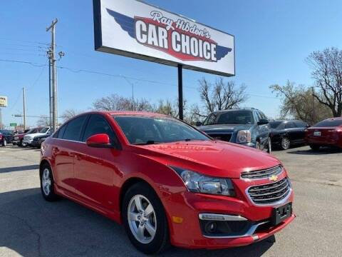 2016 Chevrolet Cruze Limited for sale at Ray Hibdon's Car Choice in Oklahoma City OK