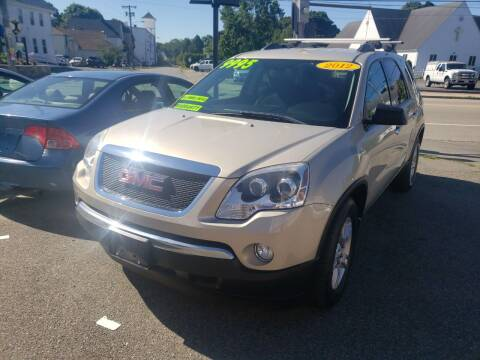 2012 GMC Acadia for sale at TC Auto Repair and Sales Inc in Abington MA