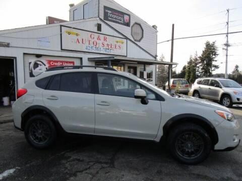 2013 Subaru XV Crosstrek for sale at G&R Auto Sales in Lynnwood WA