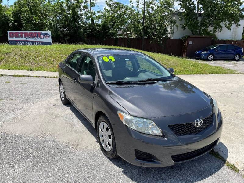 2009 Toyota Corolla for sale at Detroit Cars and Trucks in Orlando FL