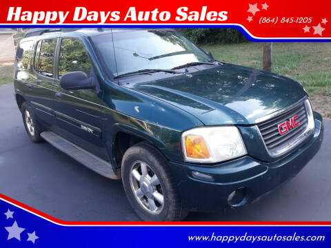 2005 GMC Envoy XL for sale at Happy Days Auto Sales in Piedmont SC