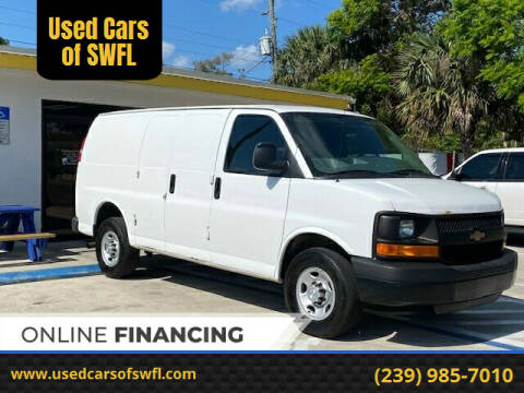 2014 Chevrolet Express Cargo for sale at Used Cars of SWFL in Fort Myers FL