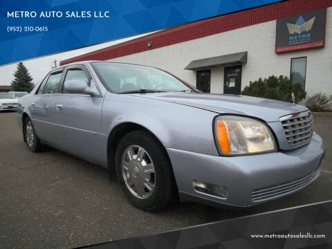 2004 Cadillac DeVille for sale at METRO AUTO SALES LLC in Blaine MN