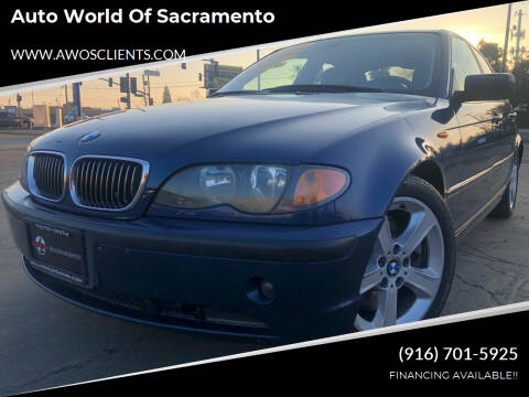 2004 BMW 3 Series for sale at Auto World of Sacramento Stockton Blvd in Sacramento CA