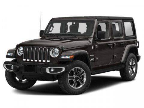2020 Jeep Wrangler Unlimited for sale at Hawk Ford of St. Charles in St Charles IL