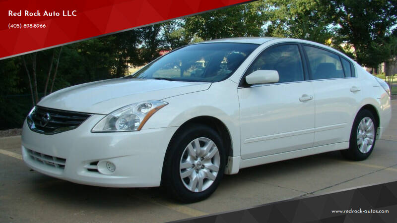 2012 Nissan Altima for sale at Red Rock Auto LLC in Oklahoma City OK