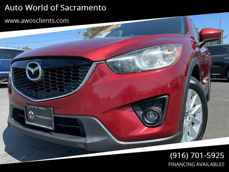 2013 Mazda CX-5 for sale at Auto World of Sacramento Stockton Blvd in Sacramento CA