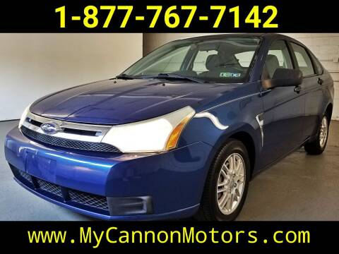 2008 Ford Focus for sale at Cannon Motors in Silverdale PA