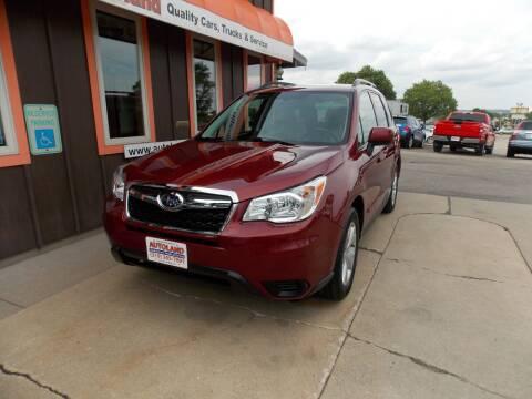 2015 Subaru Forester for sale at Autoland in Cedar Rapids IA
