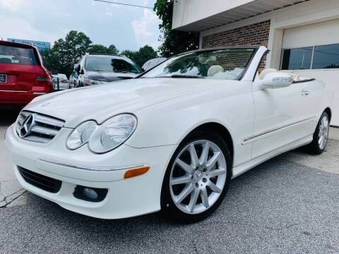 2007 Mercedes-Benz CLK for sale at North Georgia Auto Brokers in Snellville GA