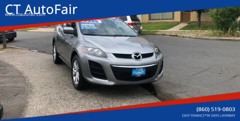 2010 Mazda CX-7 for sale at CT AutoFair in West Hartford CT