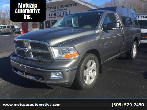 2012 RAM Ram Pickup 1500 for sale at Motuzas Automotive Inc. in Upton MA