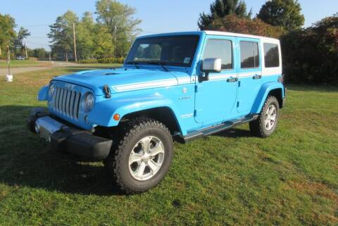 2017 Jeep Wrangler Unlimited for sale at Clearwater Motor Car in Jamestown NY