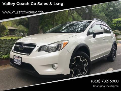2015 Subaru XV Crosstrek for sale at Valley Coach Co Sales & Lsng in Van Nuys CA
