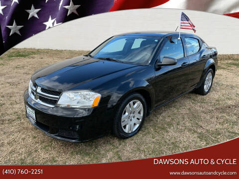 2014 Dodge Avenger for sale at Dawsons Auto & Cycle in Glen Burnie MD