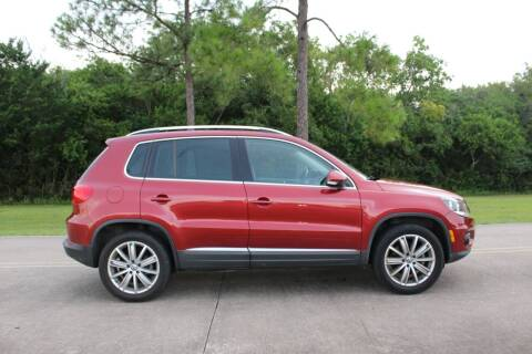 2013 Volkswagen Tiguan for sale at Clear Lake Auto World in League City TX