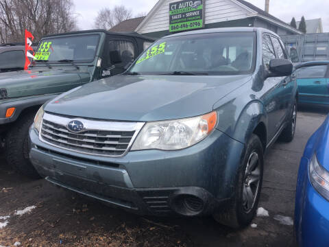 2009 Subaru Forester for sale at Connecticut Auto Wholesalers in Torrington CT