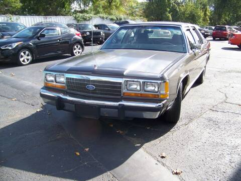 1988 Ford LTD Crown Victoria for sale at Collector Car Co in Zanesville OH